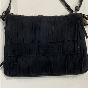 Small crossbody with fringe